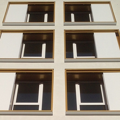 PROJECT RESIDENTAL ESTATE in FRANCE – VILLEJUIF – Aluminum windows frame and sliding panels. Conception, production, supply.
