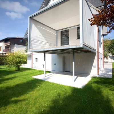PROJECT INDIVIDUAL HOUSE – development, engineering, production and implementation of roller blinds open/close cubos.