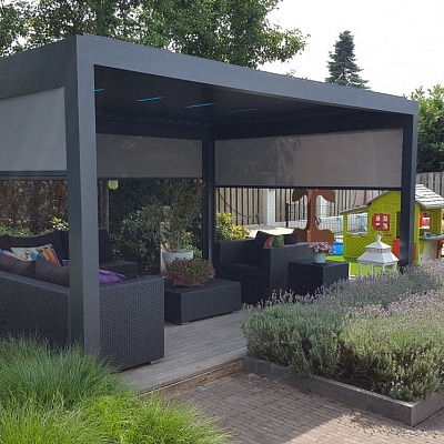 Bioclimatic Pergola Agava - Showroom Solution For Distributer
