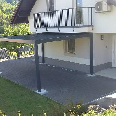 BIOCLIMATIC PERGOLA AGAVA – custom solution for the end customer. Production, supply, installation.