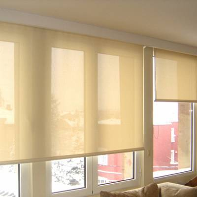 PROJECT COMMERCIAL BUILDING – production and implementation of roller blinds M. Production, supply, installation.