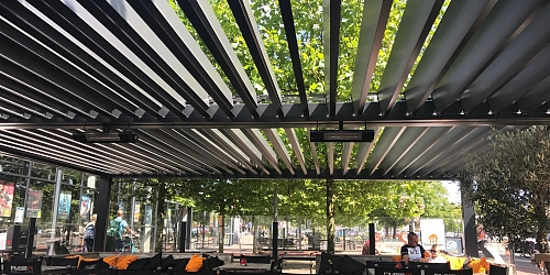"PERGOLA AGAVA – RESTAURANT IN AMSTERDAM: ""BEST YEAR EVER – WE ARE VERY HAPPY WITH OUR NEW PERGOLA!"""
