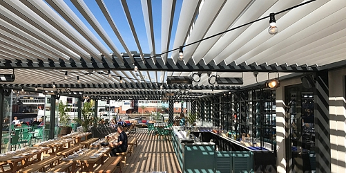 BIOCLIMATIC PERGOLA AGAVA IN SWEDEN – we are so very proud on our HoReCa project in Sweden!