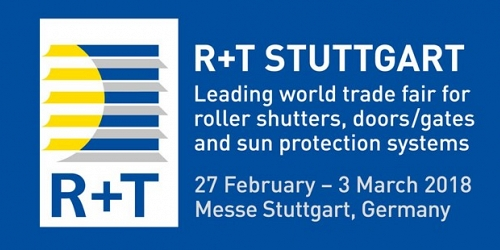THANK YOU FOR VISITING US on R + T Stuttgart